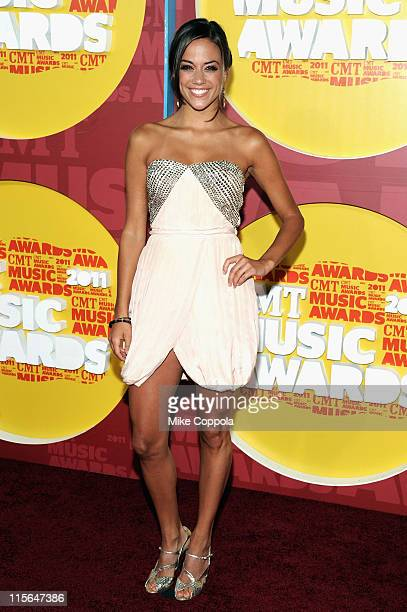 Actress Jana Kramer attends the 2011 CMT Music Awards at the Bridgestone Arena on June 8 2011 in Nashville Tennessee