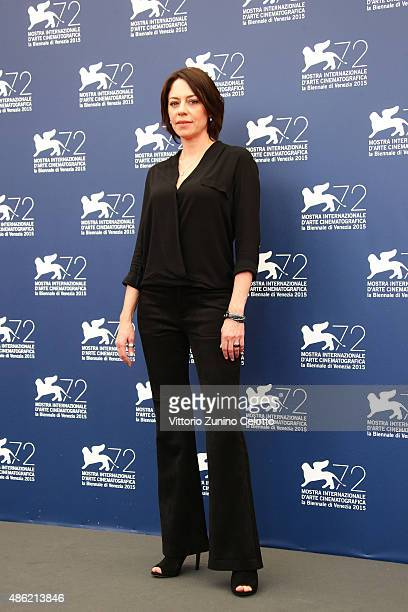 Actress Jana Raluy attends 'A Monster With A Thousand Heads' photocall during the 72nd Venice Film Festival on September 2 2015 in Venice Italy