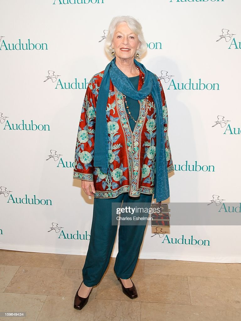 Actress Jane Alexander attends the 2013 National Audubon Society Gala Dinner on January 17, 2013 at The Plaza Hotel in New York, City.
