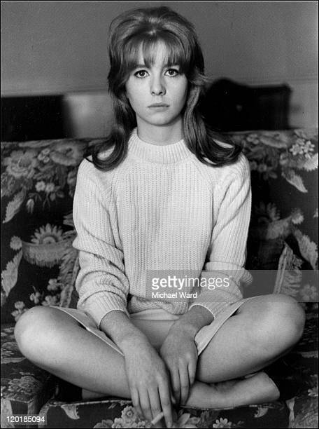 Actress Jane Asher looking serious July 9th 1963