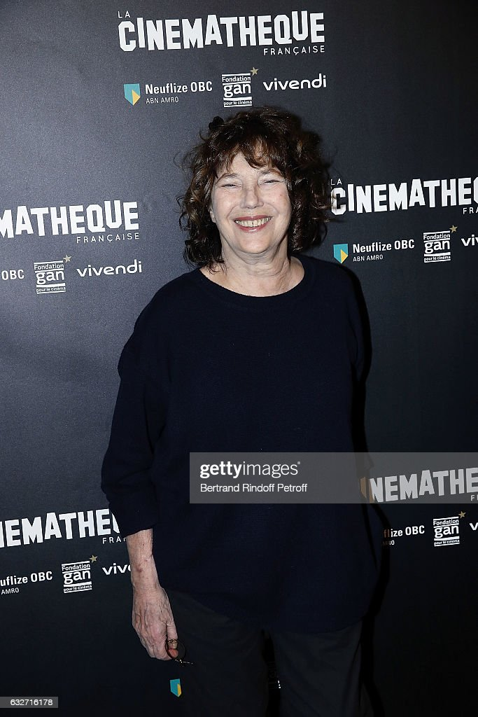 Tribute To Jane Birkins At La Cinematheque In Paris