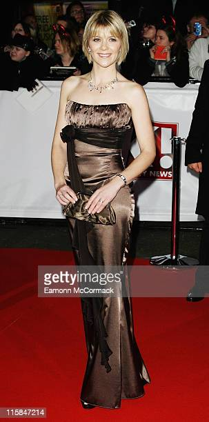 Actress Jane Danson arrives at the National Television Awards 2007 held at the Royal Albert Hall on October 31 2007 in London England