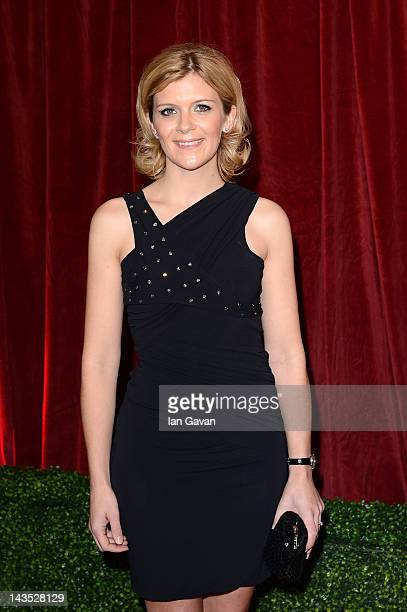 Actress Jane Danson attends The 2012 British Soap Awards at ITV Studios on April 28 2012 in London England