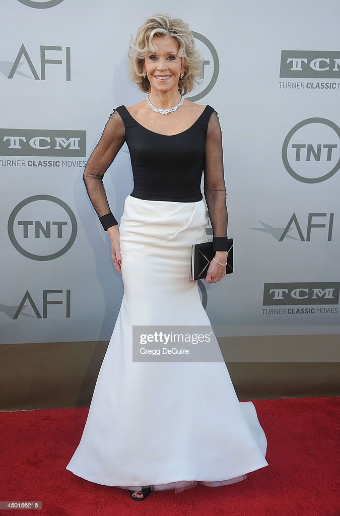 Actress Jane Fonda arrives at the 2014 AFI Life Achievement Award Gala Tribute at Dolby Theatre on June 5, 2014 in Hollywood, California.