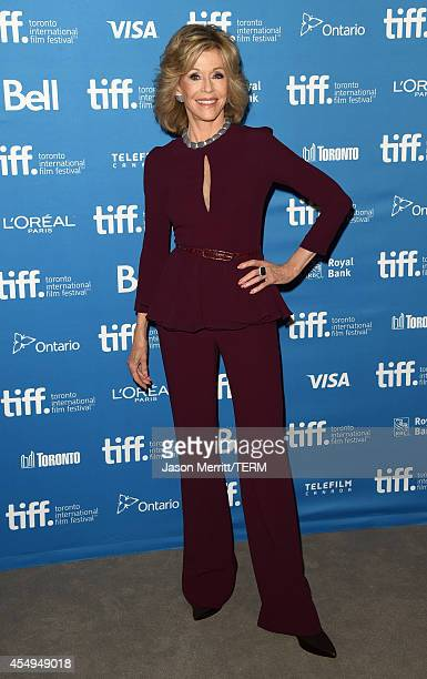 Actress Jane Fonda at 'This Is Where I Leave You' Press Conference during the 2014 Toronto International Film Festival at TIFF Bell Lightbox on...