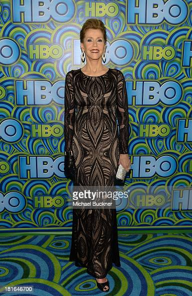 Actress Jane Fonda attends HBO's Annual Primetime Emmy Awards Post Award Reception at The Plaza at the Pacific Design Center on September 22 2013 in...