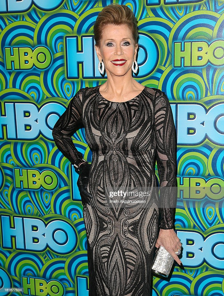 Actress Jane Fonda attends HBO's Annual Primetime Emmy Awards Post Award Reception at The Plaza at the Pacific Design Center on September 22, 2013 in Los Angeles, California.