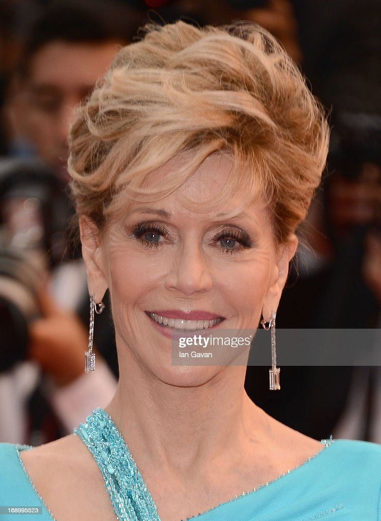 Actress <a gi-track='captionPersonalityLinkClicked' href=/galleries/search?phrase=Jane+Fonda&family=editorial&specificpeople=202174 ng-click='$event.stopPropagation()'>Jane Fonda</a> attends 'Jimmy P. (Psychotherapy Of A Plains Indian)' Premiere during the 66th Annual Cannes Film Festival at Grand Theatre Lumiere on May 18, 2013 in Cannes, France.