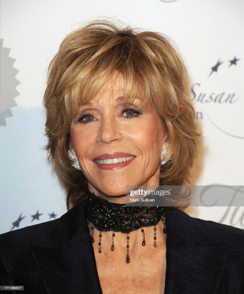 Actress <a gi-track='captionPersonalityLinkClicked' href=/galleries/search?phrase=Jane+Fonda&family=editorial&specificpeople=202174 ng-click='$event.stopPropagation()'>Jane Fonda</a> attends LA's Best 25th Anniversary Gala at The Beverly Hilton Hotel on June 22, 2013 in Beverly Hills, California.