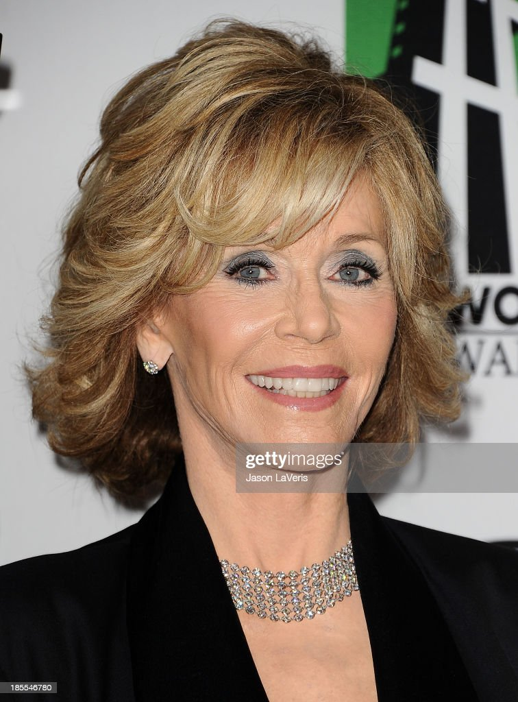 Actress <a gi-track='captionPersonalityLinkClicked' href=/galleries/search?phrase=Jane+Fonda&family=editorial&specificpeople=202174 ng-click='$event.stopPropagation()'>Jane Fonda</a> attends the 17th annual Hollywood Film Awards at The Beverly Hilton Hotel on October 21, 2013 in Beverly Hills, California.