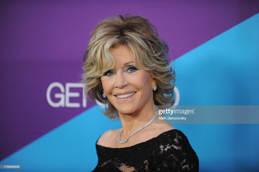 Actress <a gi-track='captionPersonalityLinkClicked' href=/galleries/search?phrase=Jane+Fonda&family=editorial&specificpeople=202174 ng-click='$event.stopPropagation()'>Jane Fonda</a> attends the 1st Annual Unite4:humanity Event hosted by Unite4good and Variety on February 27, 2014 in Los Angeles, California.