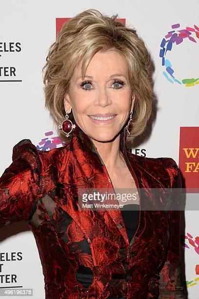 Actress Jane Fonda attends the 46th Anniversary Gala Vanguard Awards at the Hyatt Regency Century Plaza on November 7 2015 in Los Angeles California