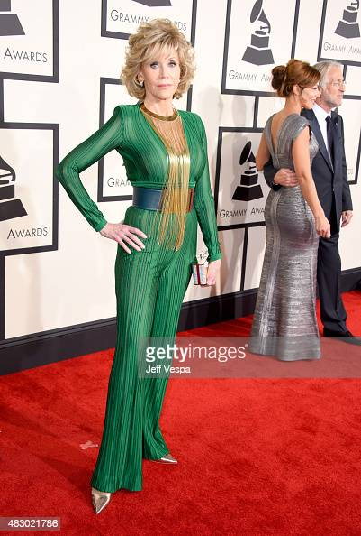 Actress Jane Fonda attends The 57th Annual GRAMMY Awards at the STAPLES Center on February 8 2015 in Los Angeles California