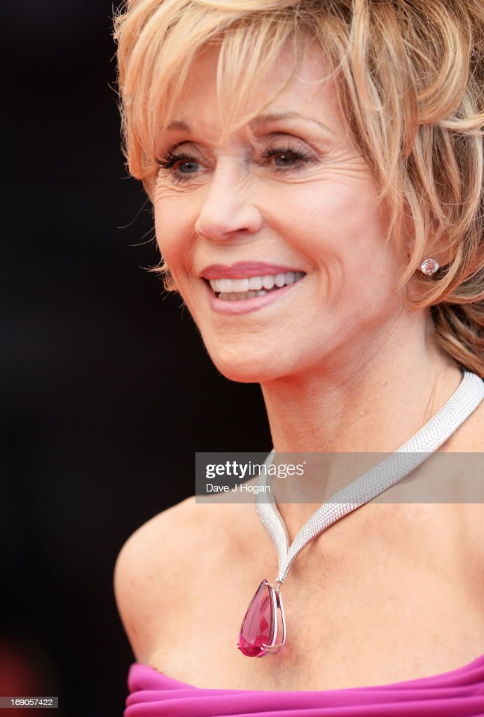 Actress Jane Fonda attends the 'Inside Llewyn Davis' Premiere during the 66th Annual Cannes Film Festival at Grand Theatre Lumiere on May 19, 2013 in Cannes, France.