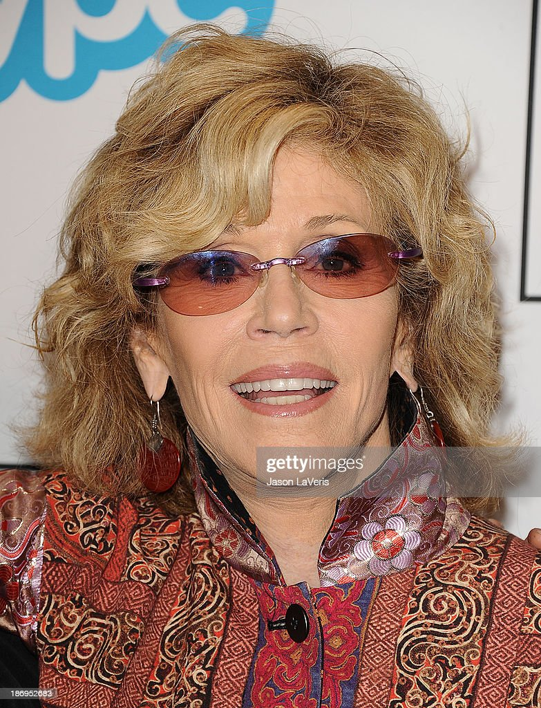 Actress Jane Fonda attends the 'Make Equality Reality' event at Montage Beverly Hills on November 4, 2013 in Beverly Hills, California.
