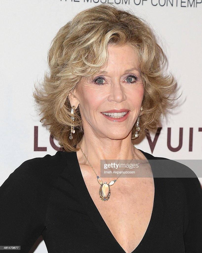 Actress <a gi-track='captionPersonalityLinkClicked' href=/galleries/search?phrase=Jane+Fonda&family=editorial&specificpeople=202174 ng-click='$event.stopPropagation()'>Jane Fonda</a> attends The Museum Of Contemporary Art, Los Angeles, Celebrates 35th Anniversary Gala Presented By Louis Vuitton at The Geffen Contemporary at MOCA on March 29, 2014 in Los Angeles, California.