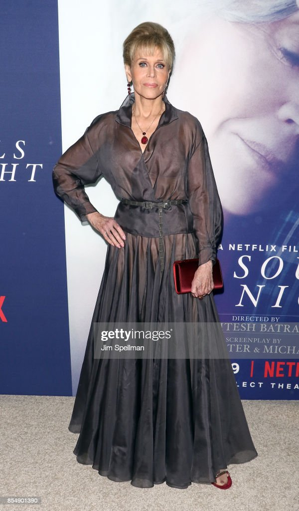 Actress Jane Fonda attends the New York premiere of 'Our Souls at Night' hosted by Netflix at The Museum of Modern Art on September 27, 2017 in New York City.