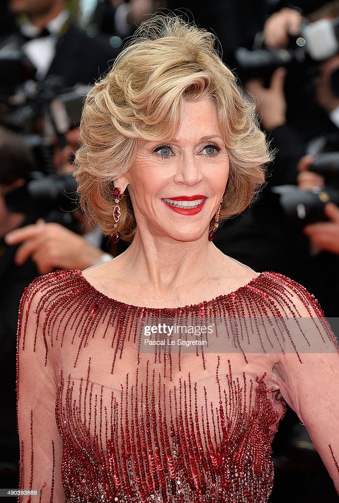 Actress Jane Fonda attends the Opening ceremony and the 'Grace of Monaco' Premiere during the 67th Annual Cannes Film Festival on May 14, 2014 in Cannes, France.