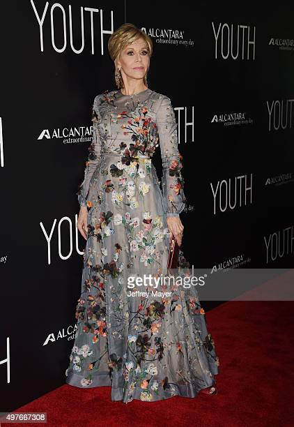 Actress Jane Fonda attends the premiere of Fox Searchlight Pictures' 'Youth' at DGA Theater on November 17 2015 in Los Angeles California