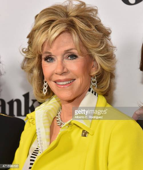 Actress Jane Fonda attends the premiere of Netflix's 'Grace and Frankie' at Regal Cinemas LA Live on April 29 2015 in Los Angeles California