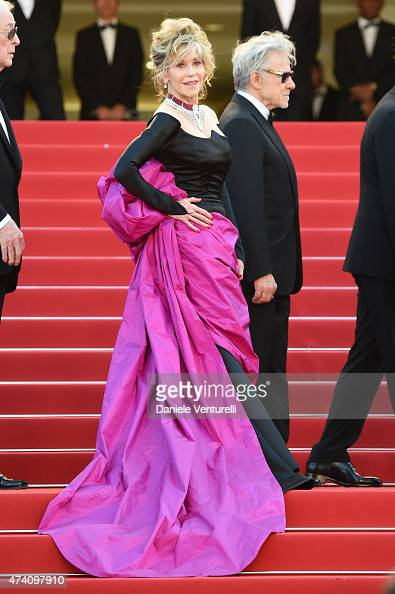 Actress Jane Fonda attends the 'Youth' Premiere during the 68th annual Cannes Film Festival on May 20 2015 in Cannes France