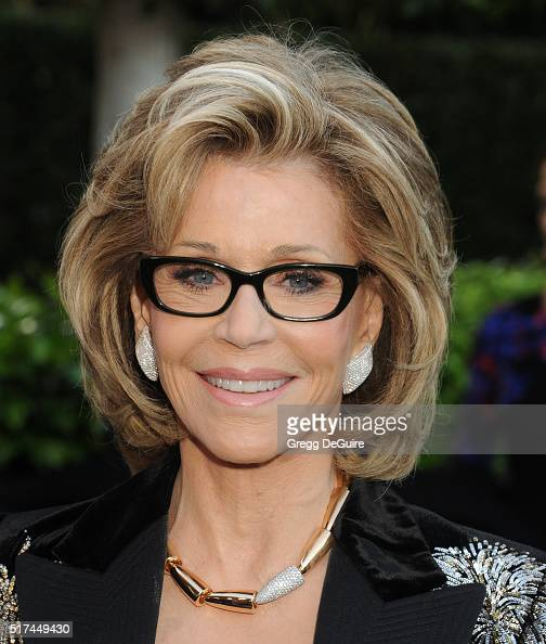 Actress Jane Fonda attends UCLA Institute of the Environment and Sustainability celebration of the Champions Of Our Planet's Future on March 24 2016...