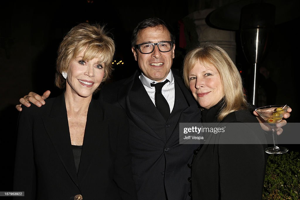 Actress <a gi-track='captionPersonalityLinkClicked' href=/galleries/search?phrase=Jane+Fonda&family=editorial&specificpeople=202174 ng-click='$event.stopPropagation()'>Jane Fonda</a>, Director <a gi-track='captionPersonalityLinkClicked' href=/galleries/search?phrase=David+O.+Russell&family=editorial&specificpeople=215306 ng-click='$event.stopPropagation()'>David O. Russell</a> and actress <a gi-track='captionPersonalityLinkClicked' href=/galleries/search?phrase=Candy+Clark&family=editorial&specificpeople=1540379 ng-click='$event.stopPropagation()'>Candy Clark</a> attend the SILVER LININGS PLAYBOOK Event Hosted By Lexus And Purity Vodka at Chateau Marmont on December 7, 2012 in Los Angeles, California.