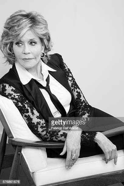 Actress Jane Fonda is photographed for Vanity Faircom on April 19 2016 in New York City