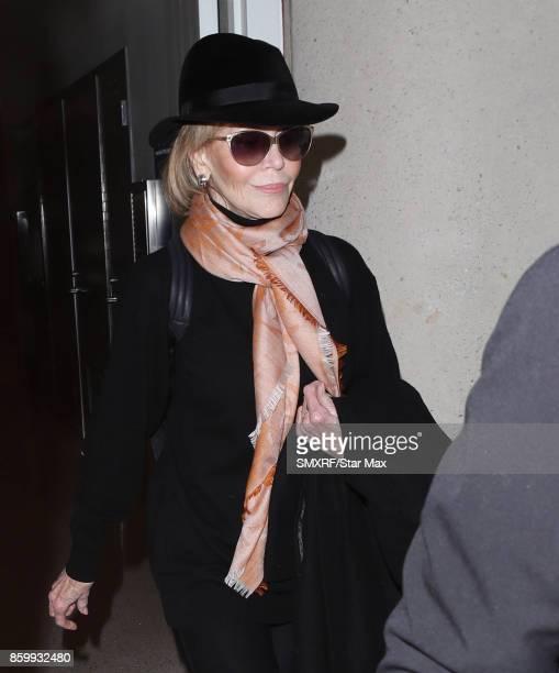 Actress Jane Fonda is seen on October 10 2017 in Los Angeles California