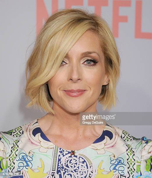 Actress Jane Krakowski arrives at Netflix's series 'Unbreakable Kimmy Schmidt' QA Screening event at Pacific Design Center on June 7 2015 in West...