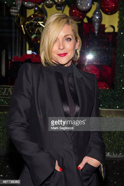 Actress Jane Krakowski attends Bloomingdale's 59th Street Holiday Window Unveiling at Bloomingdale's 59th Street Store on November 18 2015 in New...