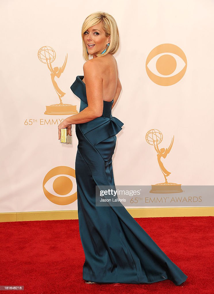 Actress Jane Krakowski attends the 65th annual Primetime Emmy Awards at Nokia Theatre L.A. Live on September 22, 2013 in Los Angeles, California.
