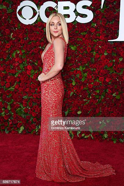 Actress Jane Krakowski attends the 70th Annual Tony Awards at The Beacon Theatre on June 12 2016 in New York City