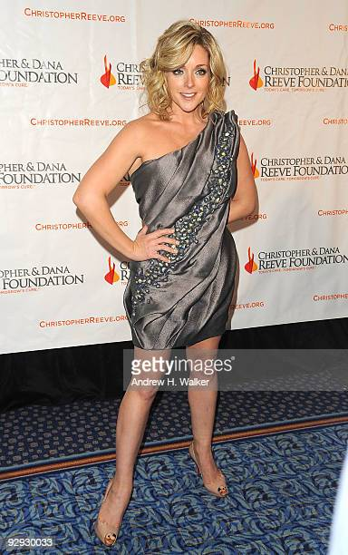 Actress Jane Krakowski attends the Christopher Dana Reeve Foundation 19th Annual 'A Magical Evening' Gala at the Marriott Marquis on November 9 2009...