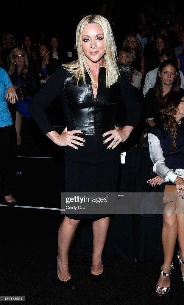 Actress Jane Krakowski attends the Kaufmanfranco fashion show during Mercedes-Benz Fashion Week Spring 2014 at The Theatre at Lincoln Center on September 9, 2013 in New York City.