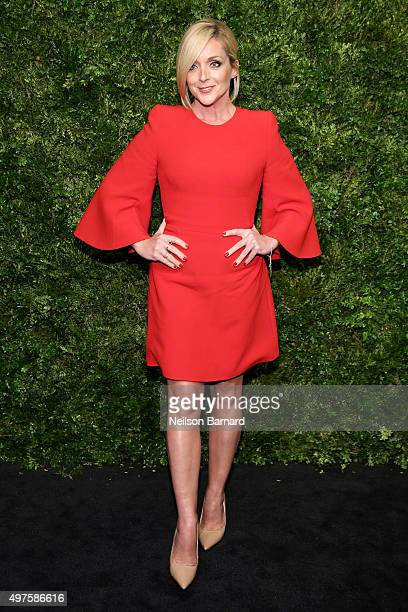 Actress Jane Krakowski attends the Museum of Modern Art's 8th Annual Film Benefit Honoring Cate Blanchett at the Museum of Modern Art on November 17...