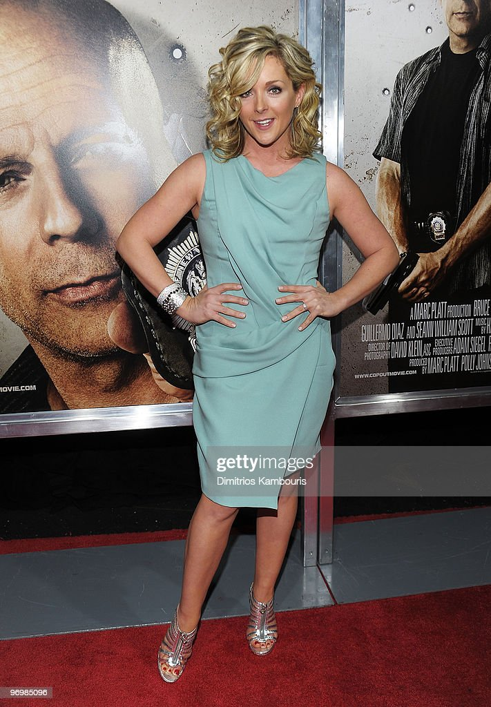 Actress Jane Krakowski attends the premiere of 'Cop Out' at AMC Loews Lincoln Square 13 on February 22 2010 in New York City