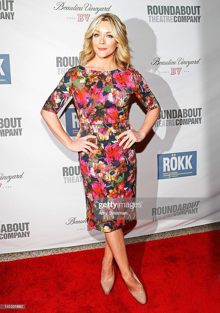 Actress Jane Krakowski attends The Roundabout Theatre 2012 Spring Gala 'From Screen to Stage' dinner and auction at the Hammerstein Ballroom on March 12, 2012 in New York City.