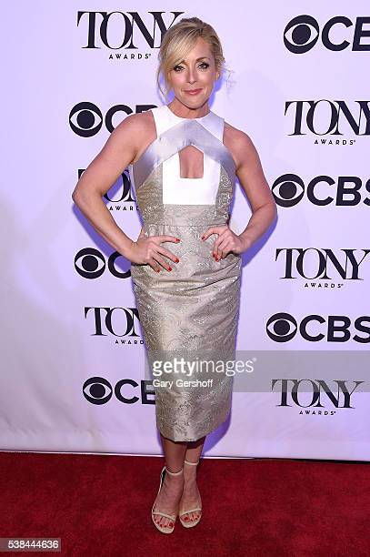 Actress Jane Krakowski attends the Tony Honors Cocktail Party presenting the 2016 Tony Honors For Excellence In The Theatre and honoring the 2016...