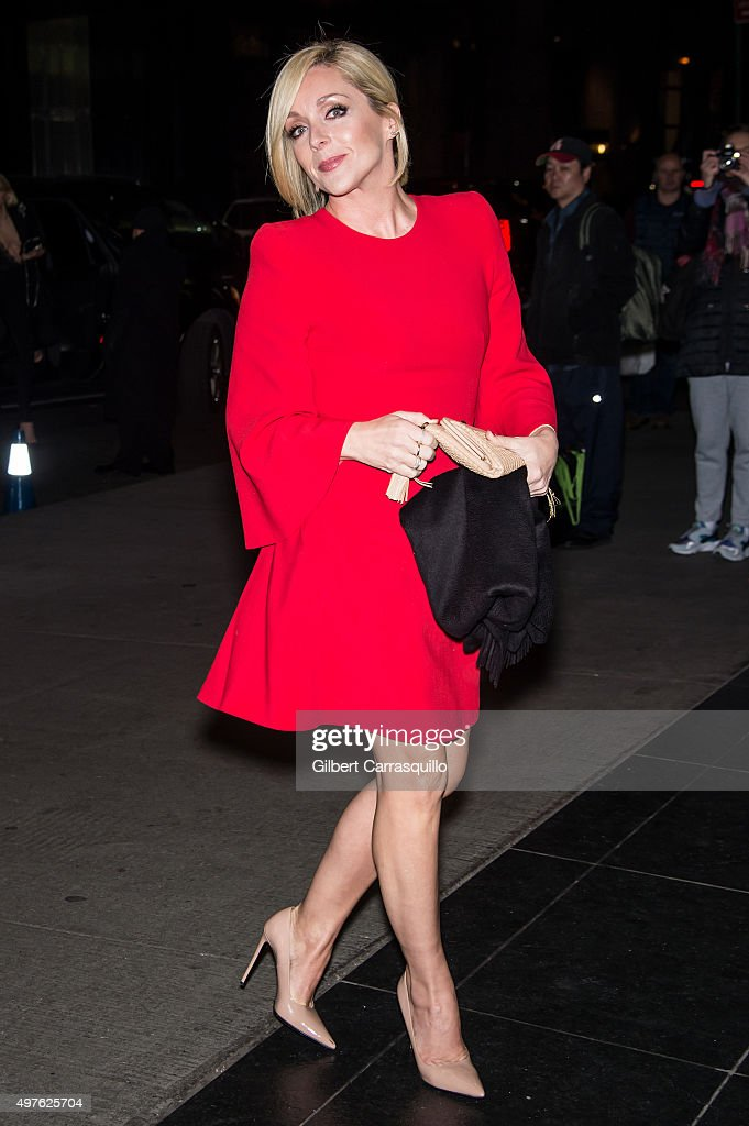 Actress Jane Krakowski is seen arriving at The Museum of Modern Art's 8th Annual Film Benefit honoring Cate Blanchett at The Museum of Modern Art on...