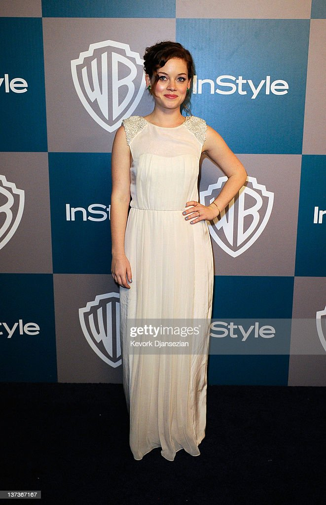 Actress <a gi-track='captionPersonalityLinkClicked' href=/galleries/search?phrase=Jane+Levy&family=editorial&specificpeople=8024402 ng-click='$event.stopPropagation()'>Jane Levy</a> arrives at 13th Annual Warner Bros. And InStyle Golden Globe Awards After Party at The Beverly Hilton hotel on January 15, 2012 in Beverly Hills, California.