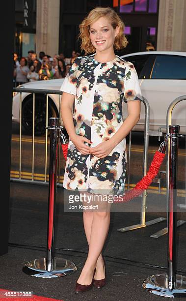 Actress Jane Levy arrives at the Los Angeles Premiere 'This Is Where I Leave You' at TCL Chinese Theatre on September 15 2014 in Hollywood California