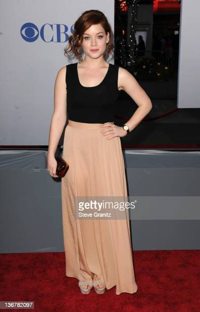 Actress Jane Levy arrives at the People's Choice Awards 2012 at Nokia Theatre LA Live on January 11 2012 in Los Angeles California