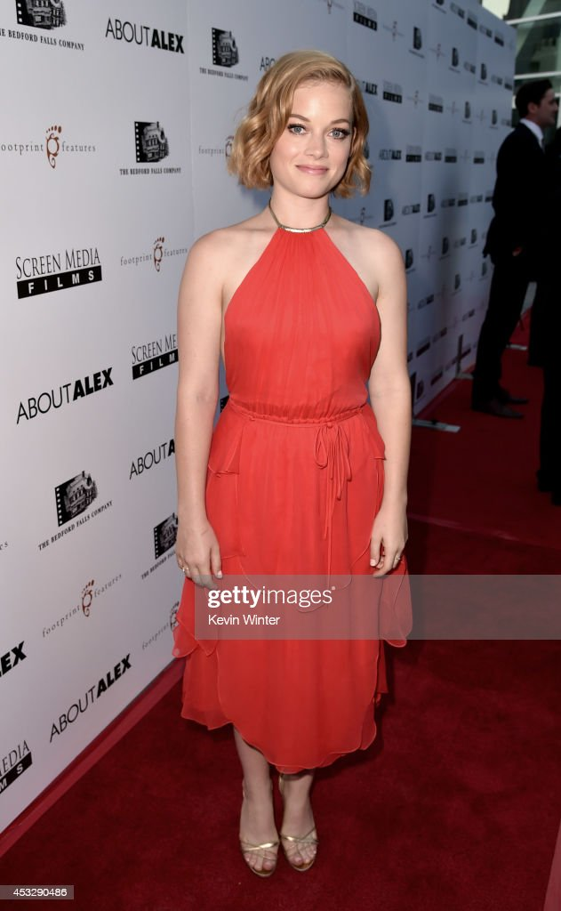 Actress Jane Levy arrives at the premiere of 'About Alex' at the Arclight Theatre on August 6, 2014 in Los Angeles, California.