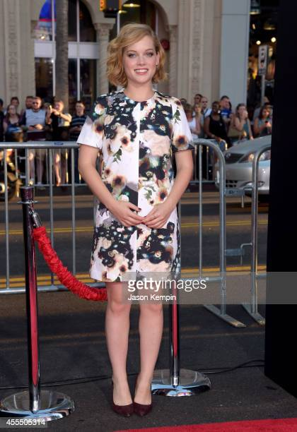 Actress Jane Levy arrives at the premiere of Warner Bros Pictures' 'This Is Where I Leave You' at TCL Chinese Theatre on September 15 2014 in...