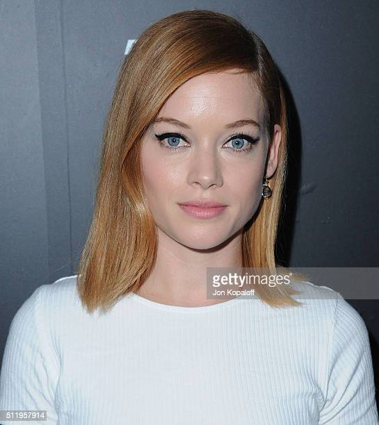 Actress Jane Levy arrives at Vanity Fair And FIAT Toast To 'Young Hollywood' at Chateau Marmont on February 23 2016 in Los Angeles California