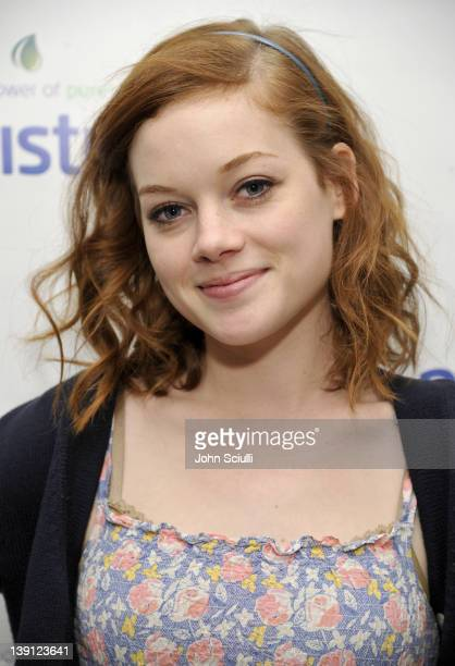 Actress Jane Levy attends a launch party for new skincare line Puristics at a private residence on February 16 2012 in Los Angeles California