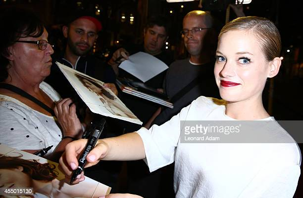 Actress Jane Levy attends the 'Bang Bang Baby' premiere during the 2014 Toronto International Film Festival at Spice Route on September 8 2014 in...
