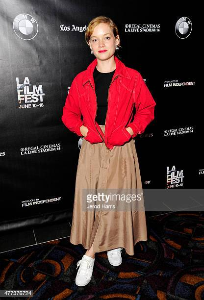 Actress Jane Levy attends the 'Frank and Cindy' screening during the 2015 Los Angeles Film Festival at Regal Cinemas LA Live on June 16 2015 in Los...