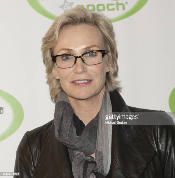 Actress Jane Lynch arrives at Beast Friends A Fur Affair To Benefit Animal Welfare at Pussy Pooch Pet Lifestyle Center on January 30 2014 in Beverly...